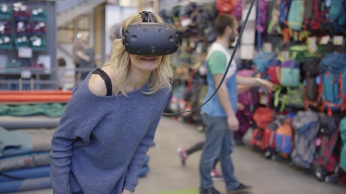 Walmart, VR, start-up, Spatialand