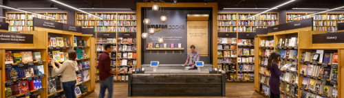 Amazon Books, librairies