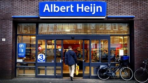 Albert Jeijn, courses, caisse, Tap to go