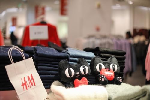 H&M, entrée, plateforme, chinoise Tmall