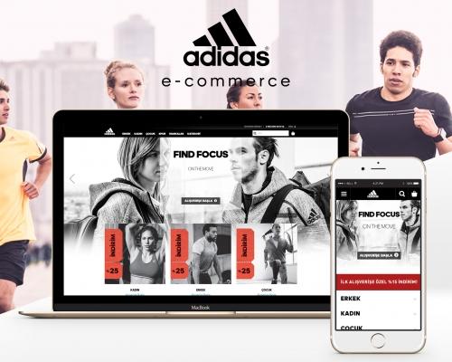 Adidas, fermer, magasins, stimuler, ventes, e-commerce