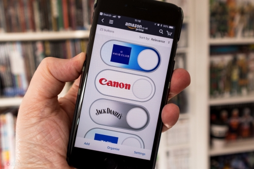 Amazon, dématérialisation, Dash, Buttons
