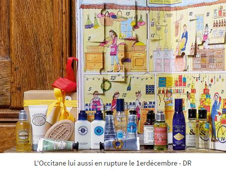l'occitane, calendrier de l'avent, beauté